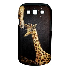 Baby Giraffe And Mom Under The Moon Samsung Galaxy S III Classic Hardshell Case (PC+Silicone)