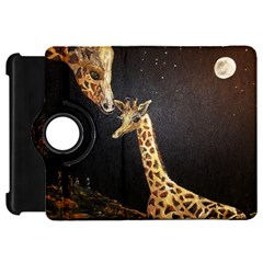 Baby Giraffe And Mom Under The Moon Kindle Fire Hd 7  (1st Gen) Flip 360 Case