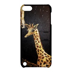 Baby Giraffe And Mom Under The Moon Apple iPod Touch 5 Hardshell Case with Stand