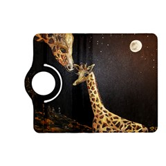 Baby Giraffe And Mom Under The Moon Kindle Fire Hd 7  (2nd Gen) Flip 360 Case