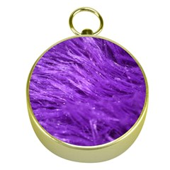 Purple Tresses Gold Compass