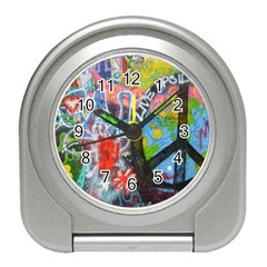 Prague Graffiti Desk Alarm Clock