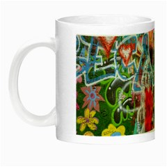 Prague Graffiti Glow In The Dark Mug