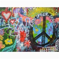 Prague Graffiti Canvas 12  x 16  (Unframed)