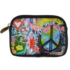 Prague Graffiti Digital Camera Leather Case
