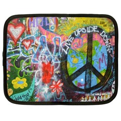 Prague Graffiti Netbook Sleeve (xl)