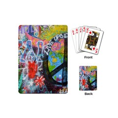 Prague Graffiti Playing Cards (Mini)