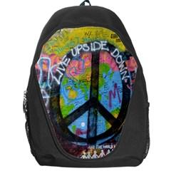 Prague Graffiti Backpack Bag