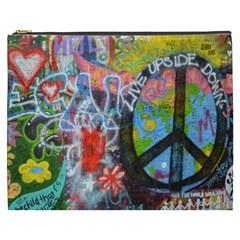Prague Graffiti Cosmetic Bag (xxxl)