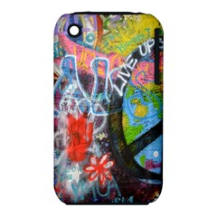 Prague Graffiti Apple iPhone 3G/3GS Hardshell Case (PC+Silicone)