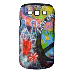 Prague Graffiti Samsung Galaxy S III Classic Hardshell Case (PC+Silicone)