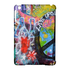 Prague Graffiti Apple iPad Mini Hardshell Case (Compatible with Smart Cover)