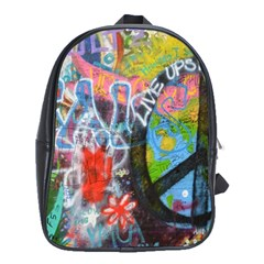 Prague Graffiti School Bag (XL)