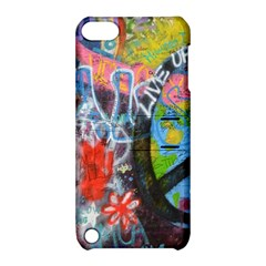 Prague Graffiti Apple Ipod Touch 5 Hardshell Case With Stand