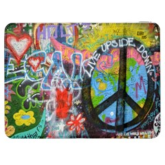 Prague Graffiti Samsung Galaxy Tab 7  P1000 Flip Case