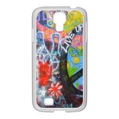 Prague Graffiti Samsung Galaxy S4 I9500/ I9505 Case (white)