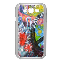 Prague Graffiti Samsung Galaxy Grand DUOS I9082 Case (White)