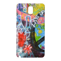 Prague Graffiti Samsung Galaxy Note 3 N9005 Hardshell Back Case