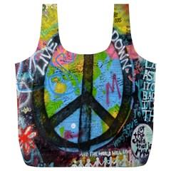 Prague Graffiti Reusable Bag (XL)