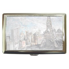Eiffel Tower Paris Cigarette Money Case
