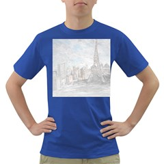 Eiffel Tower Paris Men s T-shirt (Colored)