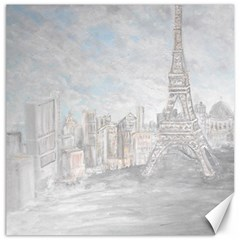 Eiffel Tower Paris Canvas 20  x 20  (Unframed)