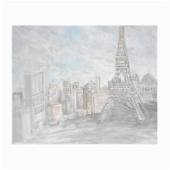 Eiffel Tower Paris Glasses Cloth (Small, Two Sided)
