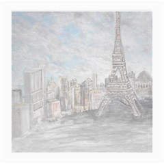 Eiffel Tower Paris Glasses Cloth (medium, Two Sided)