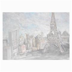 Eiffel Tower Paris Glasses Cloth (large)