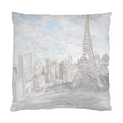 Eiffel Tower Paris Cushion Case (Single Sided)