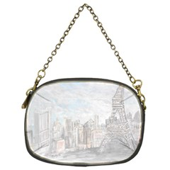 Eiffel Tower Paris Chain Purse (two Sided)