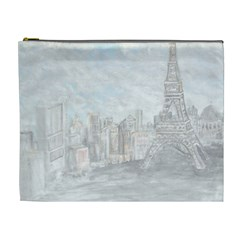 Eiffel Tower Paris Cosmetic Bag (XL)