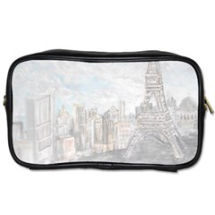 Eiffel Tower Paris Travel Toiletry Bag (One Side)