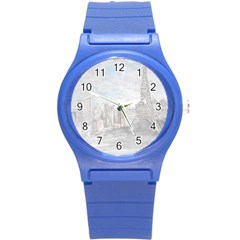 Eiffel Tower Paris Plastic Sport Watch (Small)