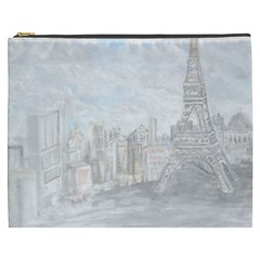 Eiffel Tower Paris Cosmetic Bag (XXXL)