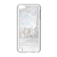 Eiffel Tower Paris Apple iPod Touch 5 Case (White)