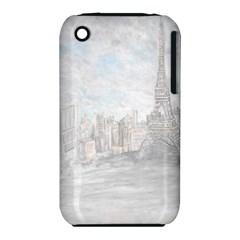 Eiffel Tower Paris Apple Iphone 3g/3gs Hardshell Case (pc+silicone)