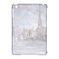 Eiffel Tower Paris Apple Ipad Mini Hardshell Case (compatible With Smart Cover)