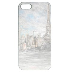 Eiffel Tower Paris Apple iPhone 5 Hardshell Case with Stand
