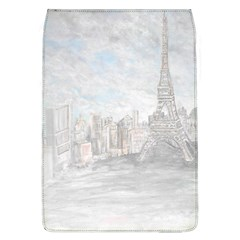 Eiffel Tower Paris Removable Flap Cover (Large)