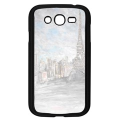 Eiffel Tower Paris Samsung Galaxy Grand DUOS I9082 Case (Black)