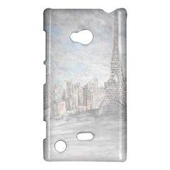 Eiffel Tower Paris Nokia Lumia 720 Hardshell Case