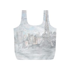 Eiffel Tower Paris Reusable Bag (S)
