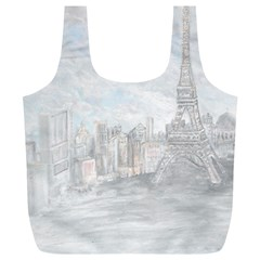 Eiffel Tower Paris Reusable Bag (XL)