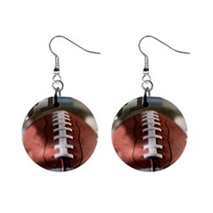 Football Mini Button Earrings