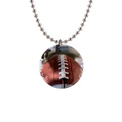 Football Button Necklace