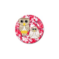 Two Owls Golf Ball Marker 4 Pack