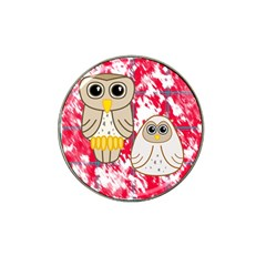 Two Owls Golf Ball Marker 4 Pack (for Hat Clip)