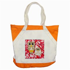 Two Owls Accent Tote Bag