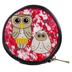 Two Owls Mini Makeup Case